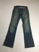 "Wrangler ""Megan Seasonal"" Bootcut Jeans-W26 L32-dunkelblau-super Zustand"