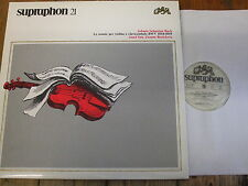 SU 72.007 Bach Violin & Harpsichord Sonatas / Suk / Ruzickova 2 LP box