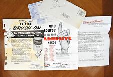 VTG 1960s Paper Ephemera Perma Lastic Products Co Salesman Advertising [a47]