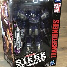 TRANSFORMERS GENERATIONS WAR FOR CYBERTRON:SHOCKWAVE SIEGE LEADER CLASS WFC-S14