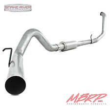 "MBRP 4"" EXHAUST WITH MUFFLER 1999-2003 FORD POWERSTROKE DIESEL 7.3L F250 F350"