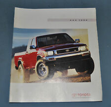 1992 Toyota 4 X 4 Four by Four Truck Sales Brochure Canadian