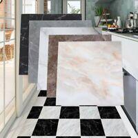 4x PVC Marble 3D Self-adhesive Bathroom Kitchen Wall Floor Tile Sticker 30x30cm