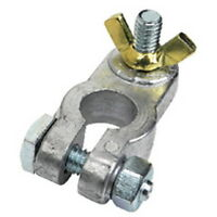 Negative Clamp on Type to Wing Nut Type Battery Terminal for Boats