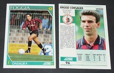 96 ANGELO CONSAGRA FOGGIA FOOTBALL CARD 92 1991-1992 CALCIO ITALIA SERIE A
