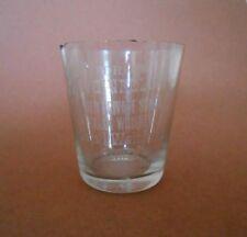 Antique Weinfeld XXX Whiskey Shot Glass Columbus Ohio 1913 and Corkscrew
