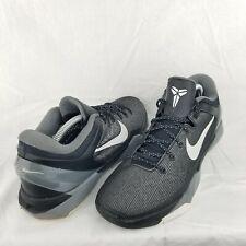 Kobe Zoom 7 VII Basketball Shoes US 9.5 Black/Gray 4886370-001 2011 Mens
