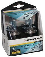 H7 Xenon Optik Halogen Lampen 8500K Super White Birnen Dunlop E4 Prüfzeichen