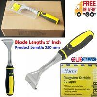 "2 Inch Heavy Duty Harris Tungsten Carbide Scraper Wood Paint Decoration Blade 2"""