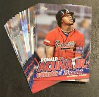 2020 Topps Update Ronald Acuna Jr Inserts - You Pick
