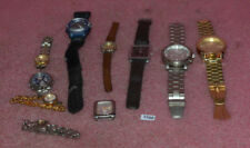 Lot Of 10 Men & Ladies Wrist Watches Aldo/Guess/Kenneth Cole/Seiko.