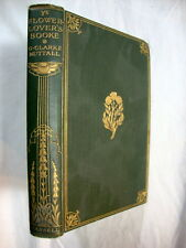 Ye flower-lover's booke by Nuttall, G. Clarke 1911 poetry about flowers