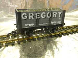 ** Dapol 4F-072-009 7 Plank Wagon 9ft Wheelbase Gregory OO Scale