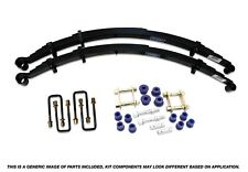 Mazda BT-50 & Ford Ranger PX 2011 - 2018 Formula 4x4 Rear Leaf Spring Kit -