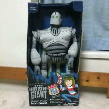 Iron Giant Talking Figure Plush Doll from Japan F/S