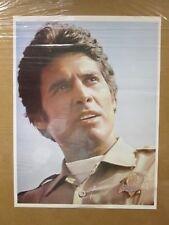 Vintage Poster Ponch Chips tv series actor 1970's reprint Erik Estrada  Inv#918