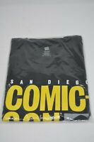 2012 SDCC San Diego Comic Con Logo T-Shirt Size XL New in Bag Black