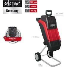 Scheppach Elektro-Gartenhäcksler GS45, 2400 W, max. 45 mm, inkl. Tasche