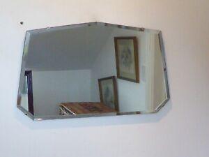 Vintage Late 40's/50's Bevelled Edge Mirror