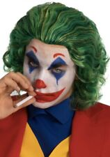 🇬🇧 UK STOCKIST 2019 The Joker Wig Green Crazy Clown Wig Handmade In Italy