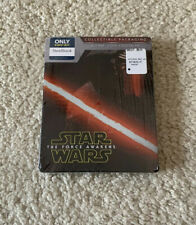 Star Wars The Force Awakens Blu-Ray/DVD/Digital HD Steelbook Best Buy Excl. NEW