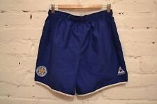 VINTAGE LEICESTER CITY HOME FOOTBALL SHORTS SOCCER MENS M LE COG SPORTIF