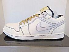 Air Jordan 1 Nike  Phat Low Derek Jeter NY Yankees Canvas 395669-102 Men Size 10