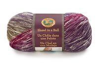 Lion Brand Shawl in a Ball Knitting & Crochet Yarn Cotton/Acrylic 150g