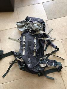 Karrimor Alpiniste Rucksack Regular Size - Black / Charcoal