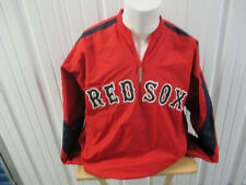 VINTAGE MAJESTIC AUTHENTIC BOSTON RED SOX SEWN LARGE TEAM PULL-OVER PREOWNED