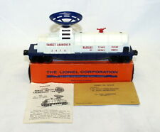 Postwar Lionel 3470 Target Launching Car~Mint Unrun~w/Nice OB & Instructions
