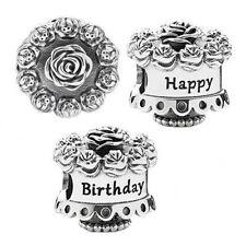 Genuine PANDORA Happy Birthday Celebration Cake charm Silver S925 ALE 791289