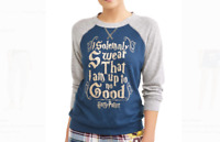 Harry Potter Womens Sleep Lounging Shirt I Solemnly Swear That I...Med or Small