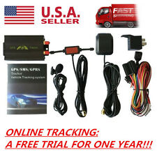 TK103B Vehicle Car GPS SMS GPRS Tracker Real Time Tracking Device System US EGJ