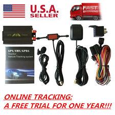 Vehicle Car GPS SMS GPRS Tracker Real Time Tracking Device Syatem Remote TK103B~