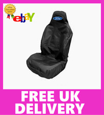 FORD Car Sports Recaro Seat Cover Protector in Black / Fits FORD F150