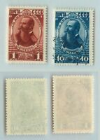 Russia USSR ☭ 1949 SC 1328-1329 used . f6834