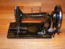 Restored Antique German Kayser High Arm Treadle Sewing Machine (1890-1910?)