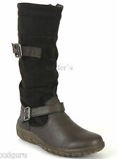 HUSH PUPPIES Damen Stiefel Boots Damenstiefel Gr 38 Weite G schwarz
