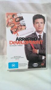 Arrested Development. 2 x disc set. Complete Season Three. Jason Bateman