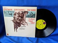 """True Grit"" OST LP Capitol ST-263 Elmer Bernstein VG+ VG+"