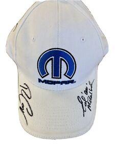 Ron Capps Ed Ace McCulloch Mopar DSR Don Schumacher Racing Hat Signed