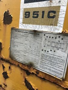 Cat 951 C Track Loader