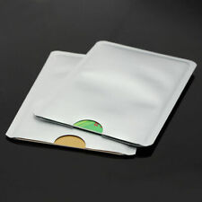 Safety 10X Anti Theft Credit Card Protector RFID Blocking Aluminum Sleeve Shield