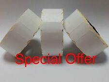 15,000 White Permanent 26mm x 12mm (26mm x 12mm) CT4 Price Gun Labels 10 Rolls