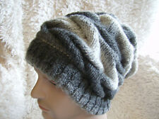 Hunk Slouchy - Unisex Hat - Easy Chunky Knitting Pattern