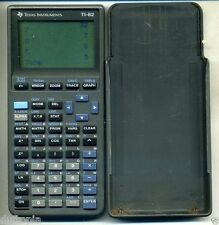 Texas Instruments Working TI-82 Stats Calculator Gray (0104) sold AS IS..