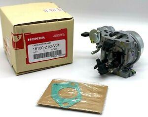Genuine Honda 16100-Z1C-V01 Carburetor (Be85Q A) includes 16221-ZF6-800 Gasket