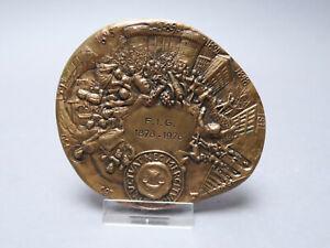 Medalla Francia Ville De Paría Fluctuat nec Mergitur F. I. G 1878-1978 Roch