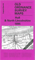Old Ordnance Survey Map Hull & North Lincolnshire - England Sheet 80